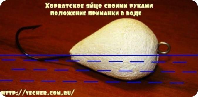 Как сделать хорватское яйцо своими руками?