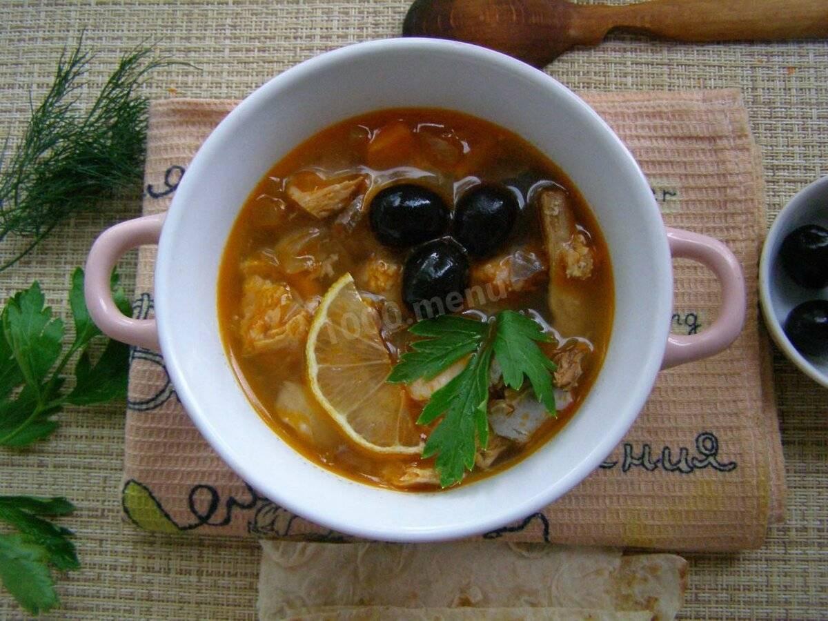 Рыбная солянка - вкуснейшее насыщенное блюдо для всей семьи