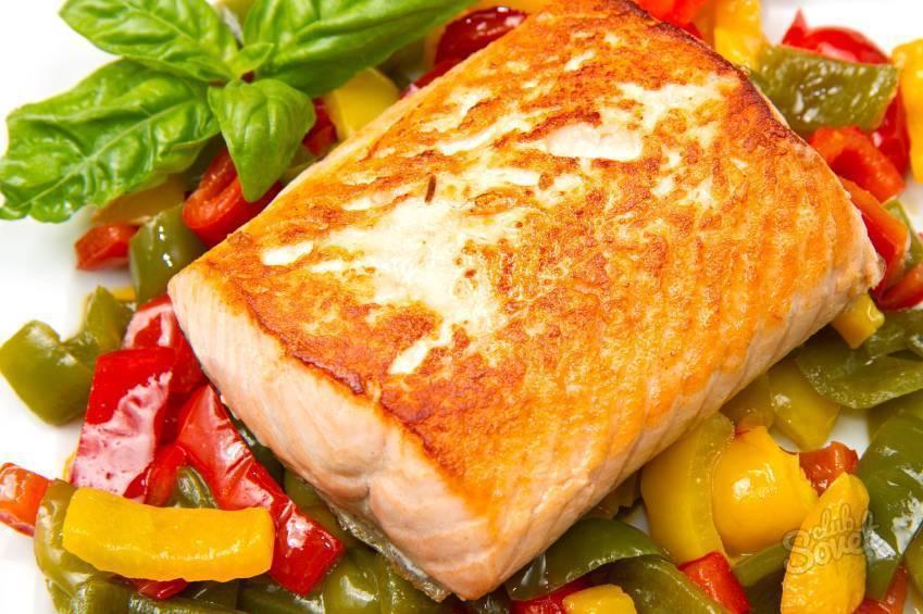 Гарнир к жареной рыбе рецепт с фото