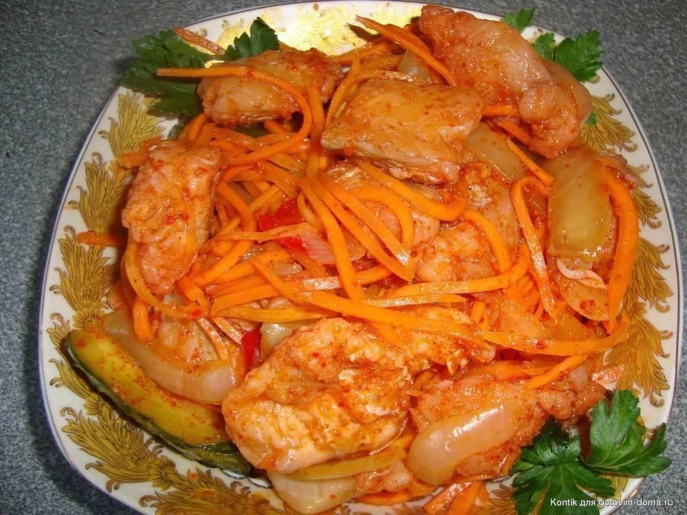Хе из горбуши – вкуснейшее пряное блюдо из свежей рыбы: рецепт с фото и видео