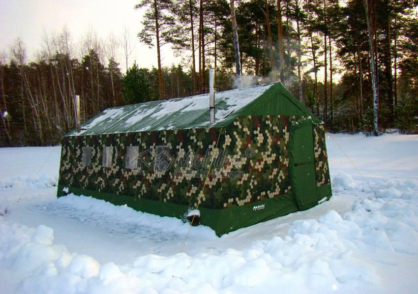 Зимние палатки с печкой или отдельная печка для палатки