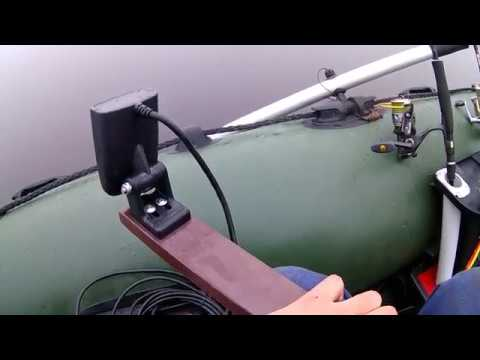 Крепление эхолота на лодку пвх - заводское и своими руками: варианты и способы