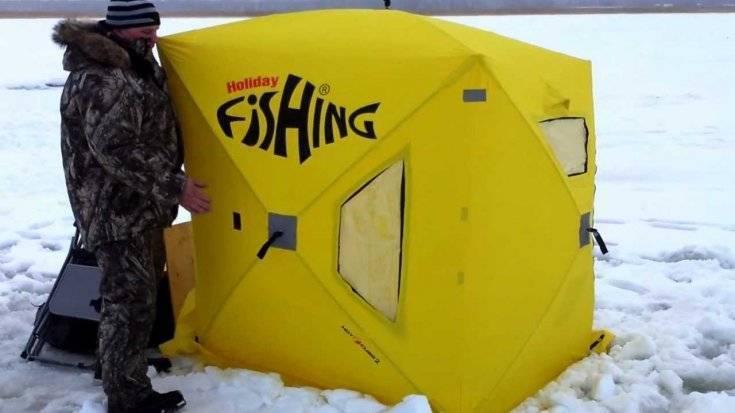Как сделать зимнюю палатку для рыбалки — чертежи и лучшие проекты