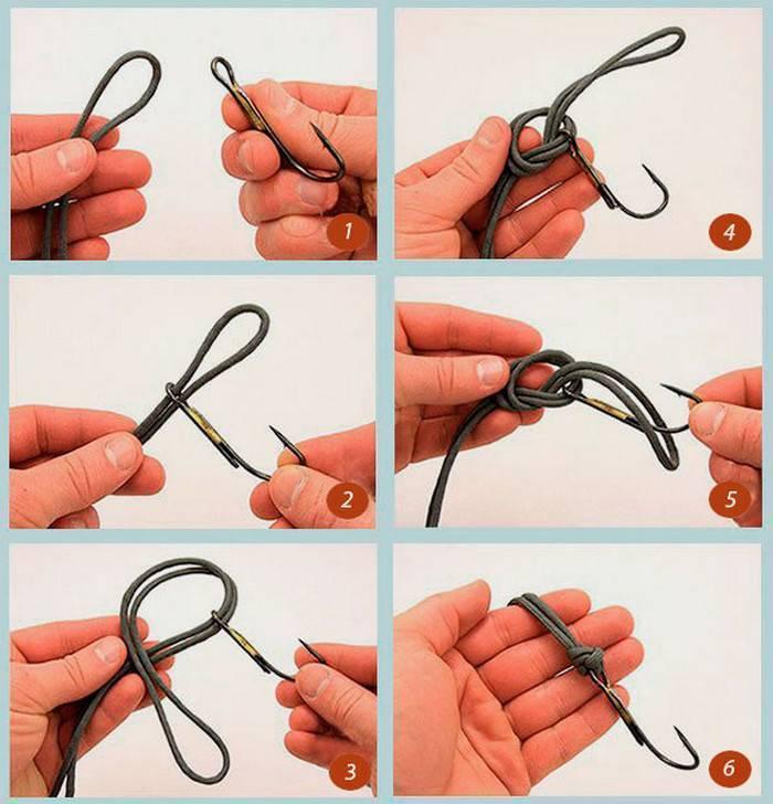 Как завязать лески между собой: схема, способы правильно связать разные диаметры