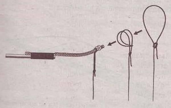 Как привязать леску к удилищу без колец разными методами