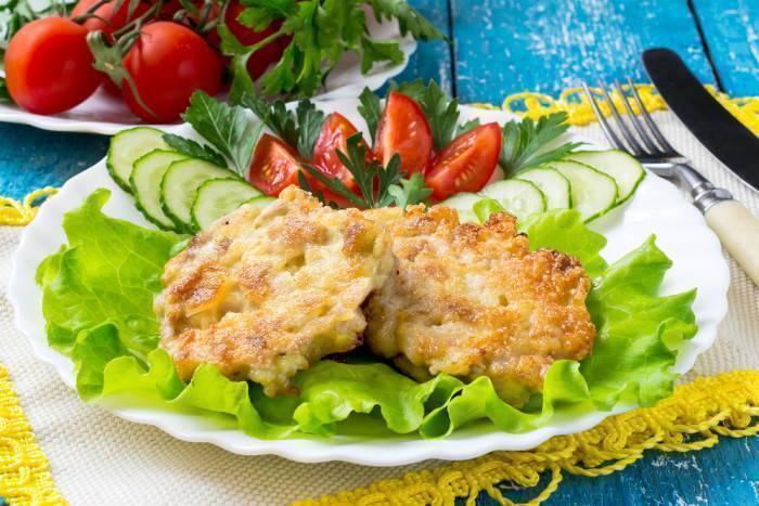 """Котлеты """"рубленные"""" из лосося и палтуса – кулинарный рецепт"""