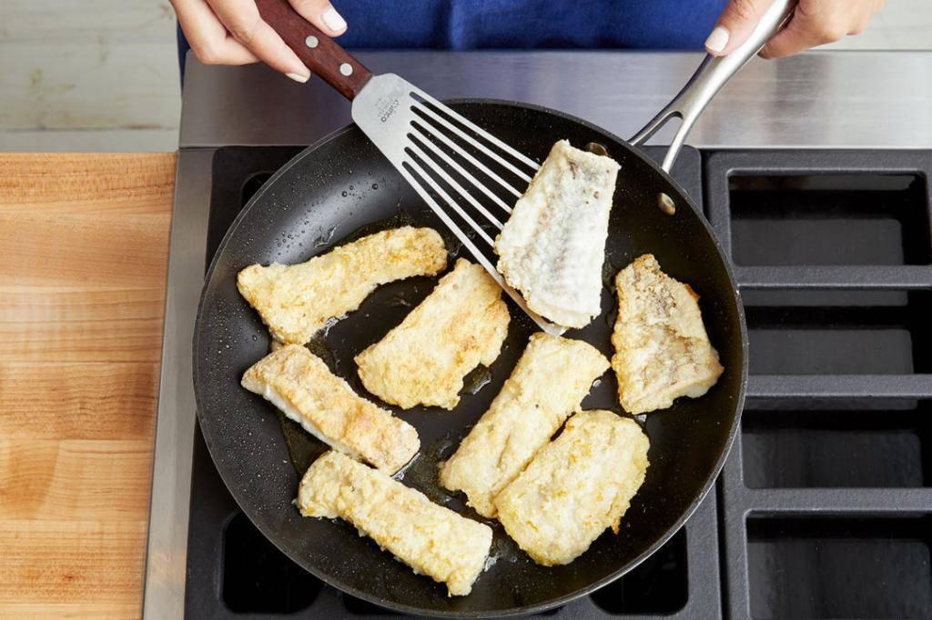 Сколько жарить рыбу на сковороде - женские секреты