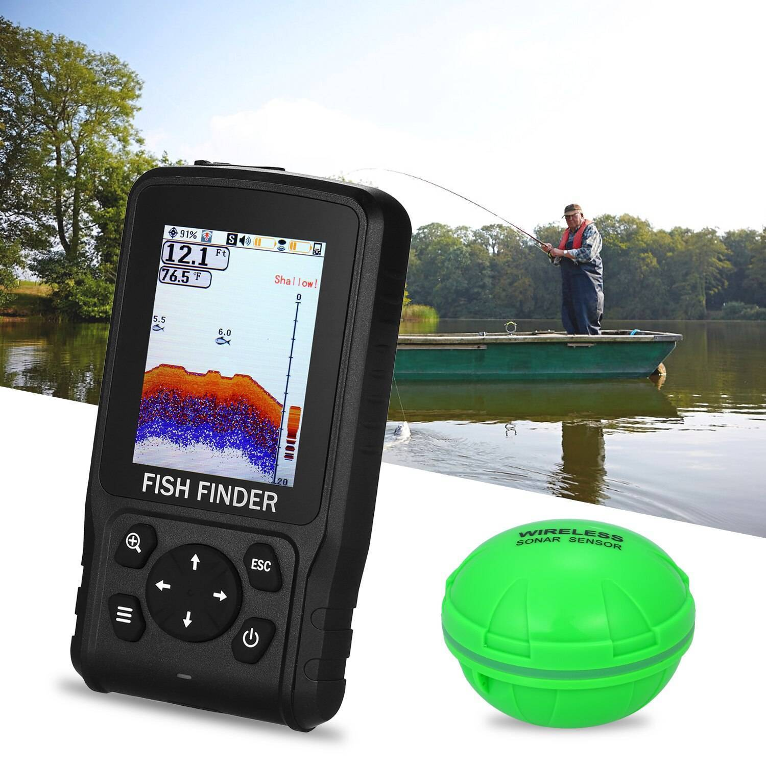 Lucky ffw718, ffw1108, ff518, ff918 android application xfishfinder - home