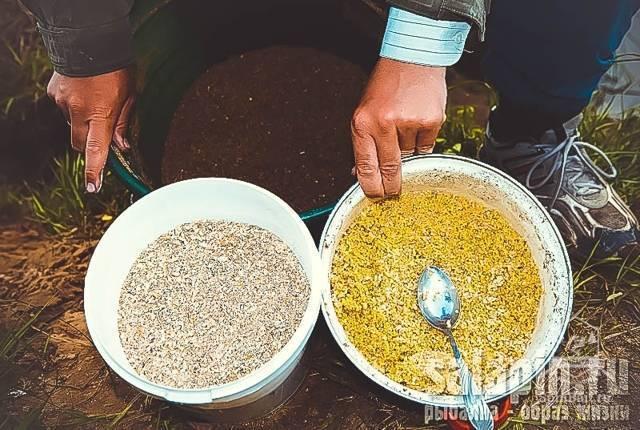 Салапинская каша для фидера: рецепт приготовления на леща