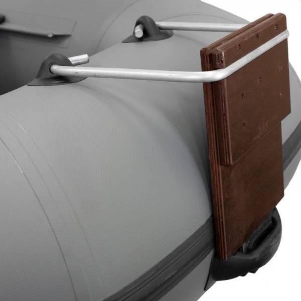Навесной транец для надувных лодок пвх - видео, крепление, размеры, цена, установка