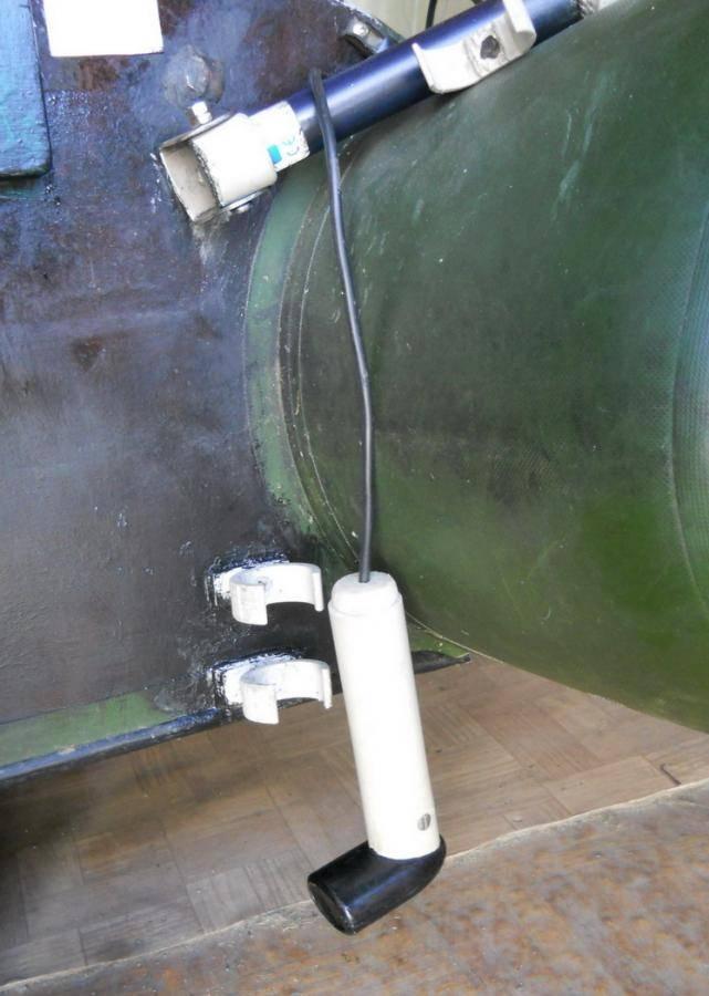 Правильная установка и крепление на транце датчика эхолота, рекомендации специалистов