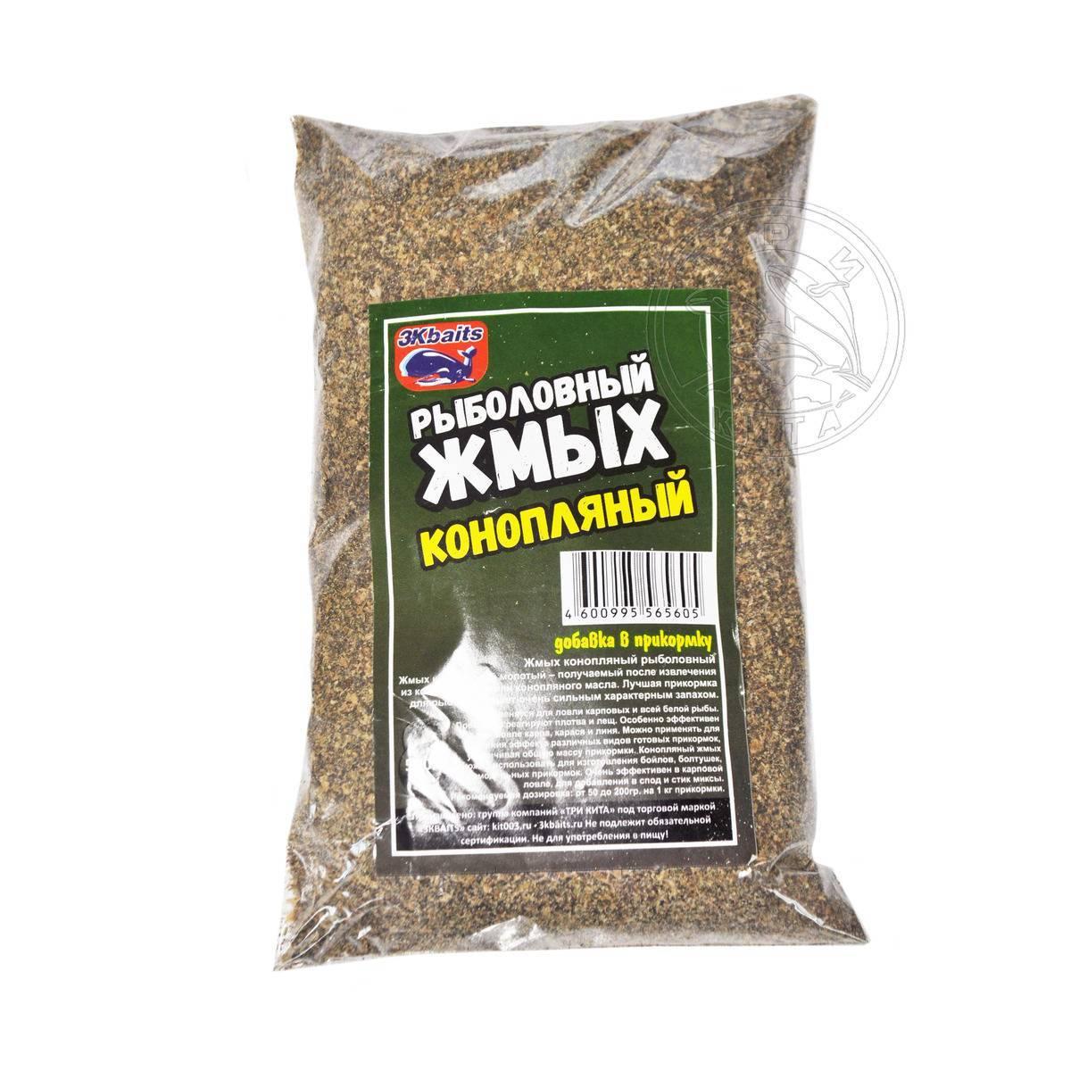 Приготовление и применение семян конопли в качестве наживки.
