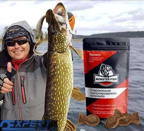 Пеллетс monster fish - инновационная приманка для рыбы и активатор клёва | много отзывов