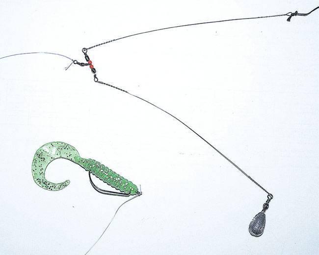 Ловля окуня на отводной поводок: видео ловли и монтаж оснастки