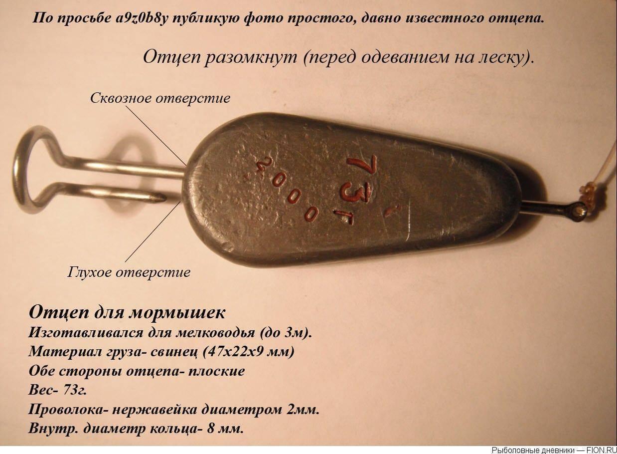 Юрий (yury32), отцеп для мормышек
