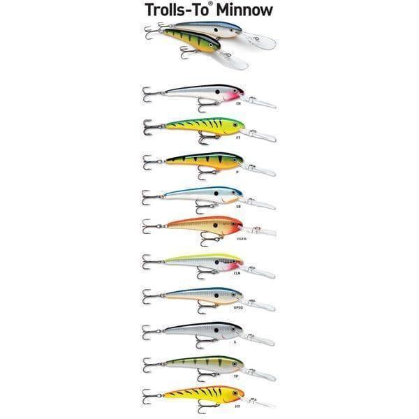 Воблеры рапала для троллинга на судака: как выбрать, лучшие модели