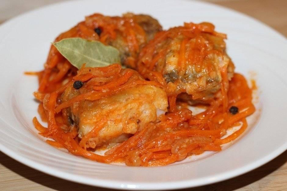 Минтай в духовке с морковью и луком – 10 вкусных рецептов с фото пошагово