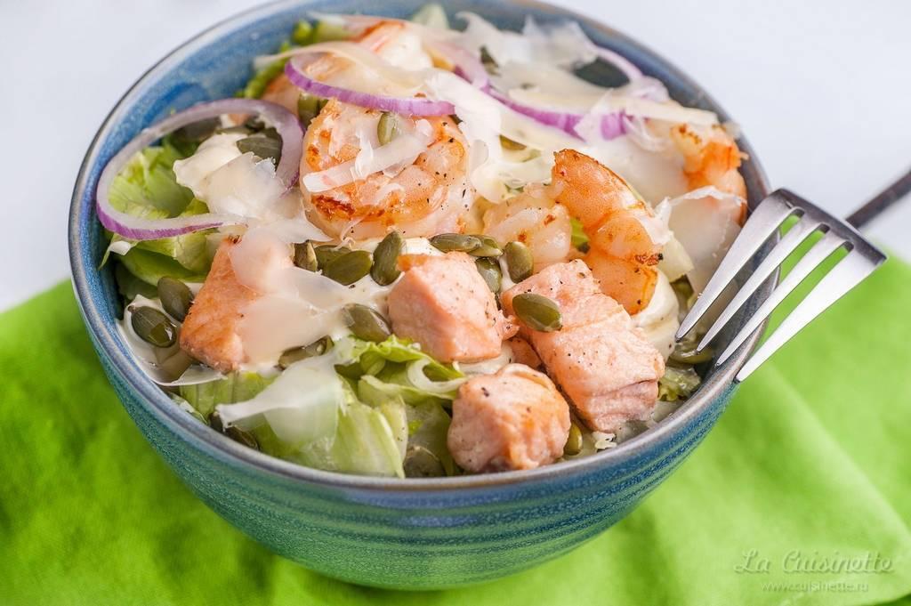 Салат из трески вареной