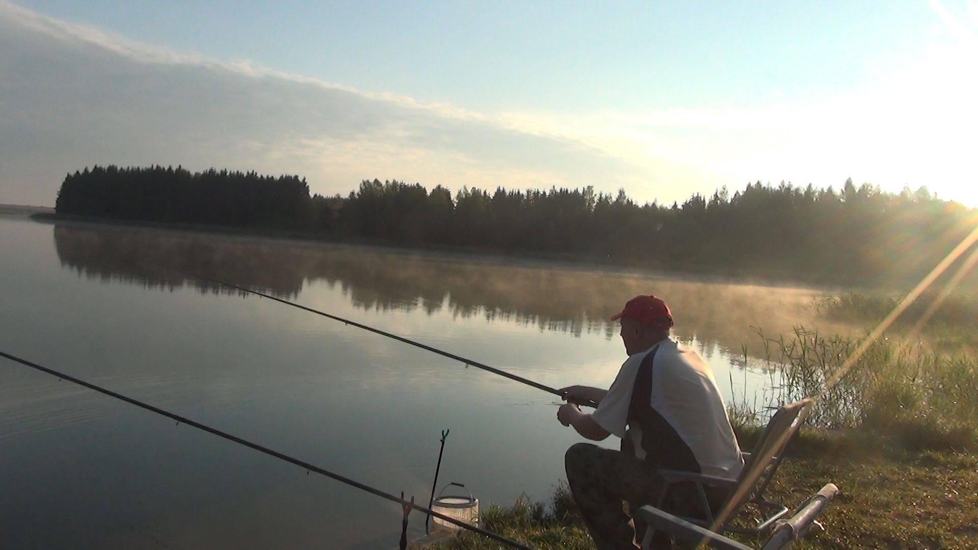 Ловля рыбы на озере – увлекательное и интересное занятие!