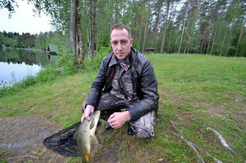 Рыбалка в ленинградской области. ленобласть