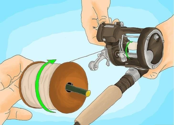Как намотать леску на катушку спиннинга