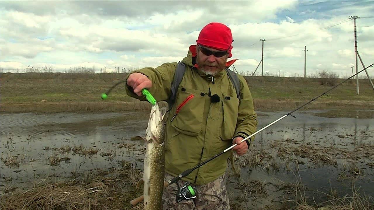 Ловля щуки в марте на спиннинг - приманки и тактика