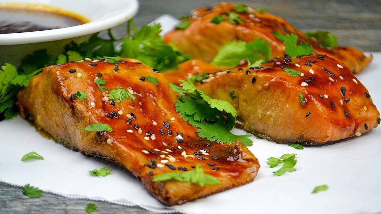 Красная рыба в духовке - рецепты приготовления с фото