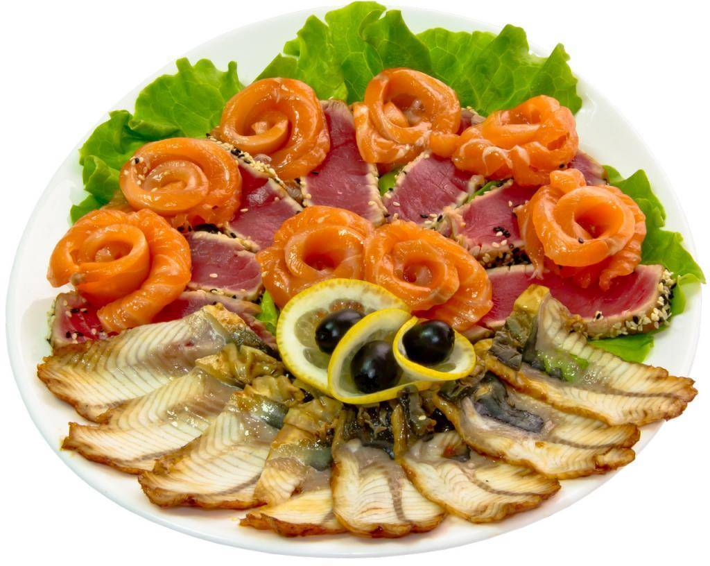 Украшаем рыбную нарезку на праздничный стол — 30 фото с примерами оформления | lisa.ru