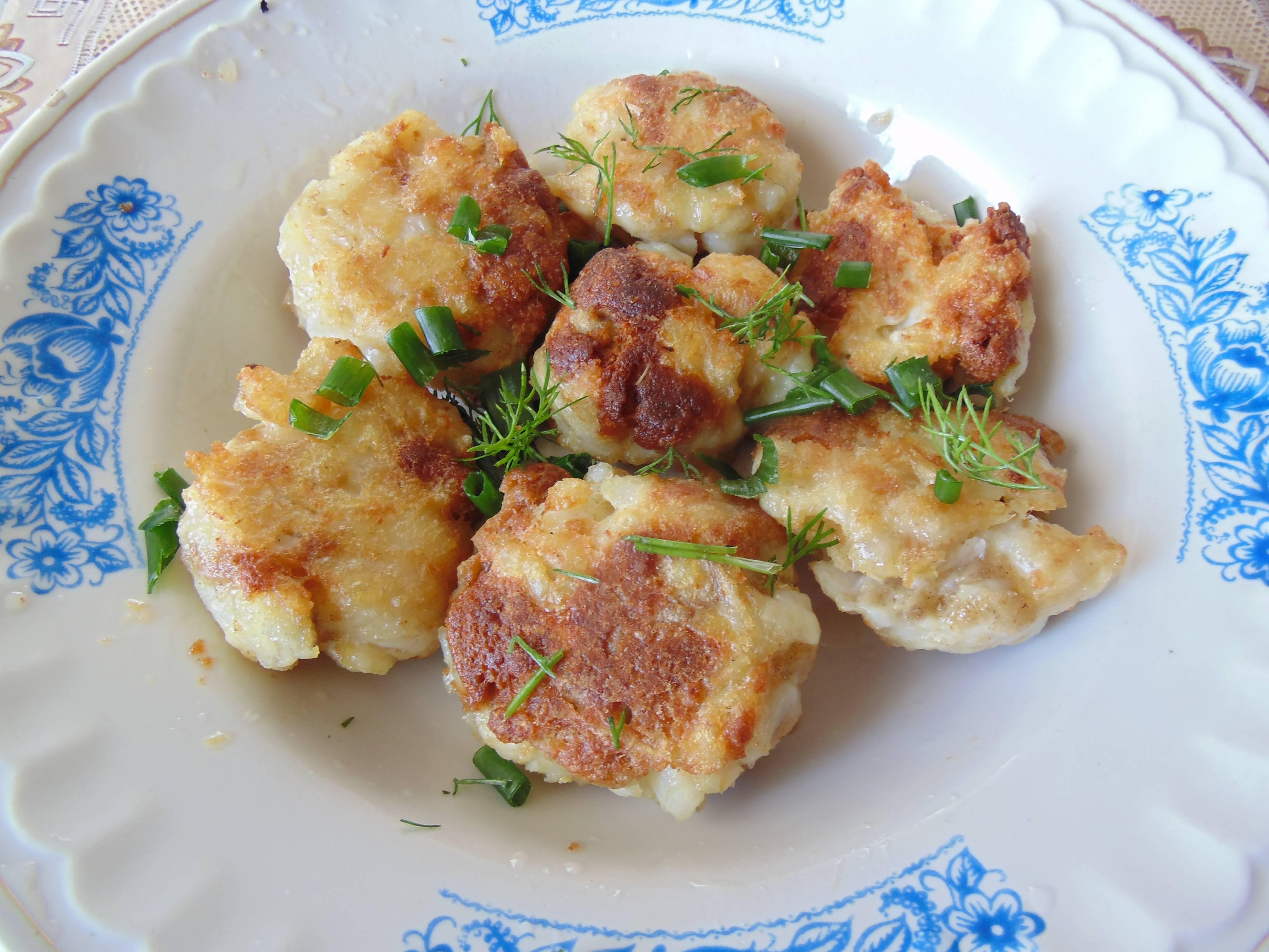 Котлеты из щуки пошаговый рецепт с фото на сковороде