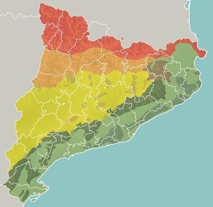 Каталония, испания - достопримечательности каталонии