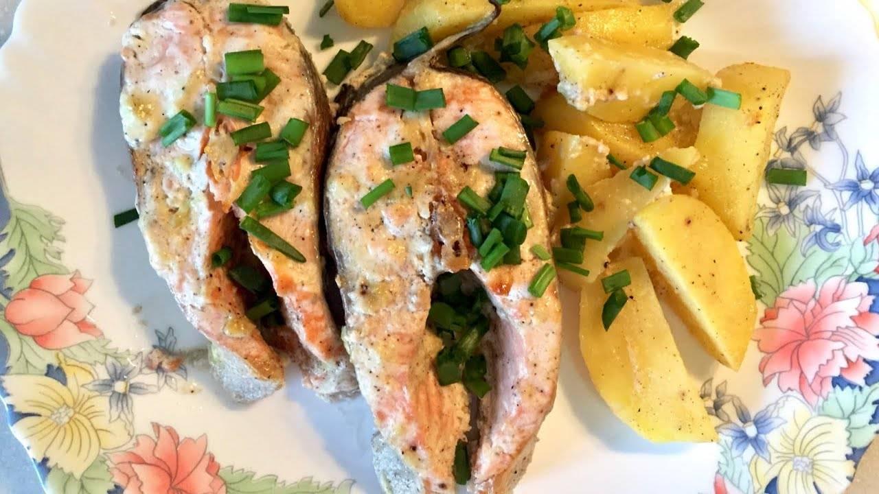 """Форель, запеченная в фольге """"золотая рыбка"""" – кулинарный рецепт"""