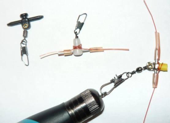 Как привязать поплавок к леске с ушком внизу без стопоров - рыбалка