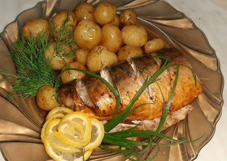 Картошка в фольге в духовке — 7 пошаговых рецептов