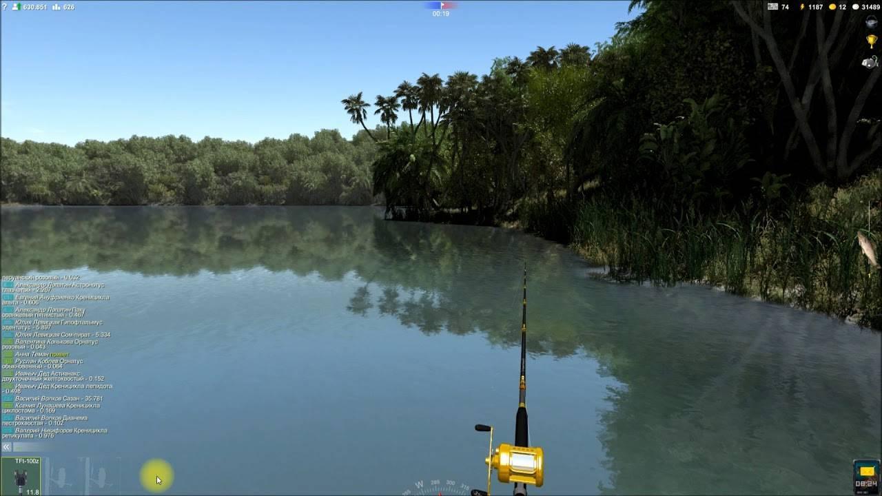 Трофейная рыбалка секреты игры