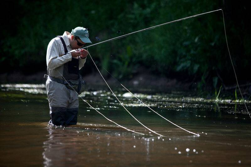 Ловля нахлыстом различной рыбы