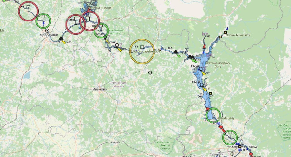 Рыбалка в ярославской области | (76) карта рыболовных мест