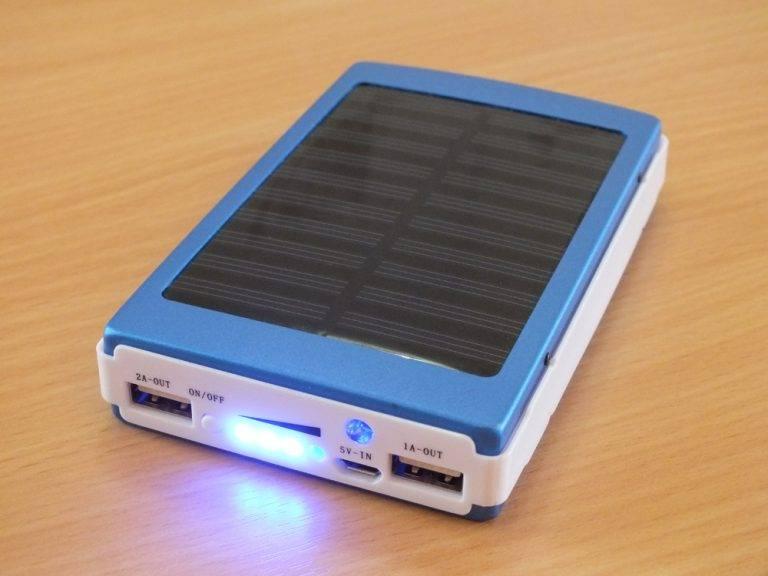 Солнечная батарея power bank: отзывы, характеристики, обзор, мифы