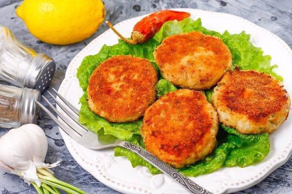 Рыбные котлеты – вкусное и очень аппетитное блюдо для всей семьи!