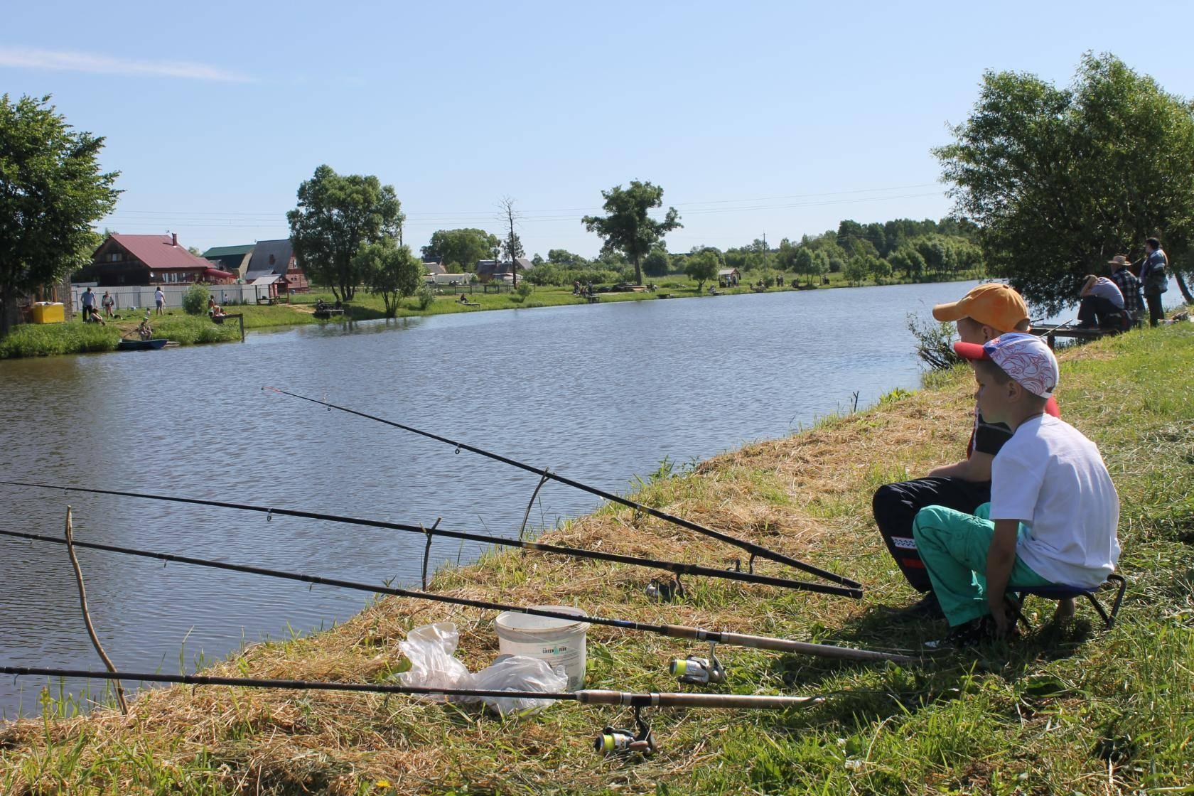 Рыбалка в калужской области и калуге, на калужском шоссе в сосенках, на пруду барыбино 2019