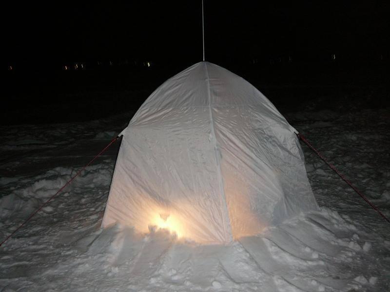 Самодельная палатка для зимней рыбалки своими руками - про рыбалку