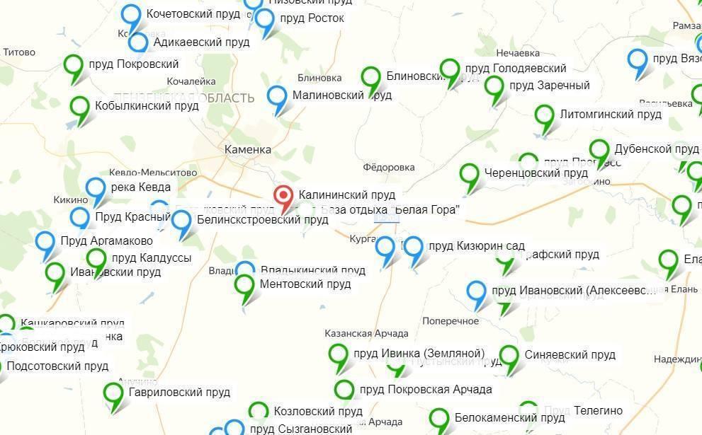 ✅ ловля карпа в пензенской области - рыбзон.рф