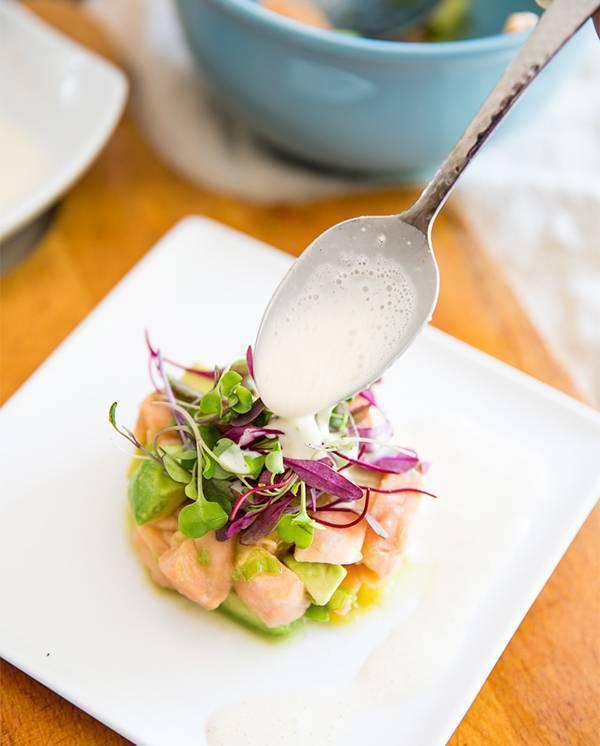 Севиче из лосося — рецепты, как приготовить с апельсином, огурцами или авокадо