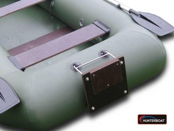 Навесной транец для лодки пвх: как правильно сделать своими руками?