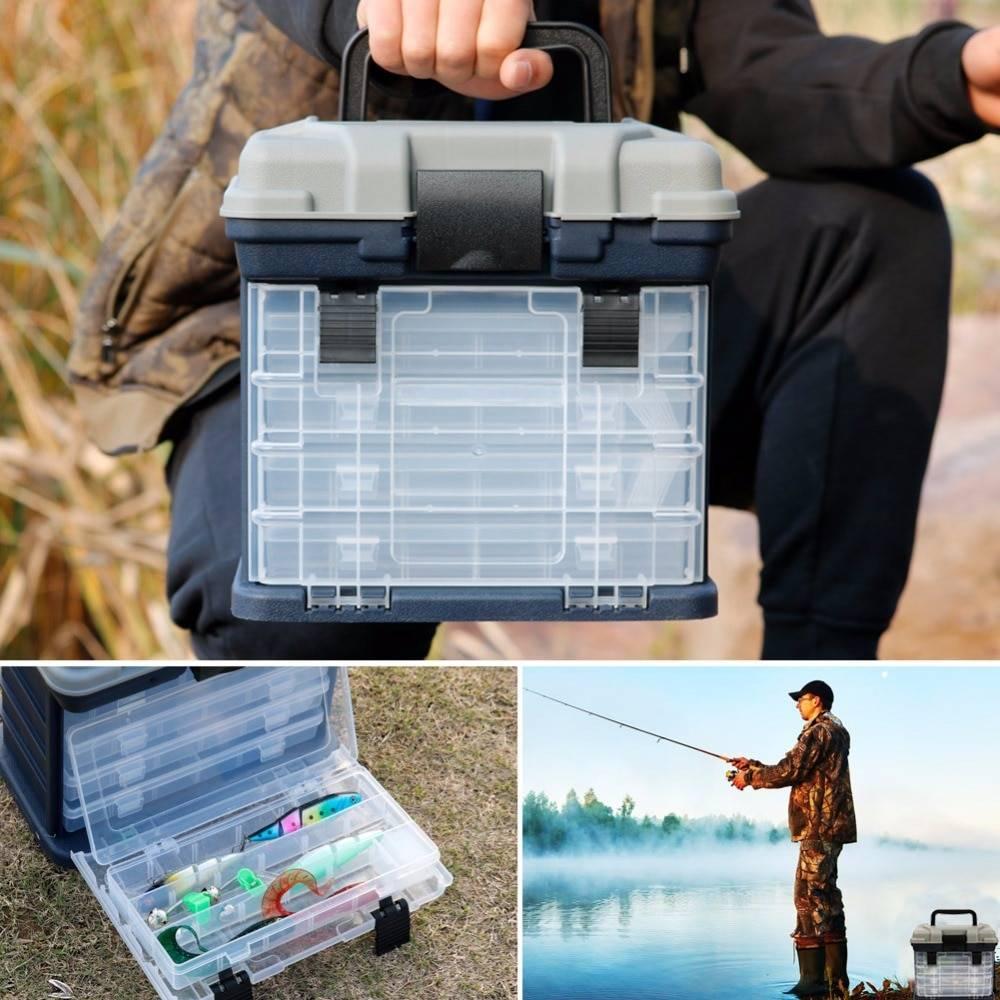 Летний рыболовный ящик для снастей: содержание, как сделать для хранения принадлежностей рыбака
