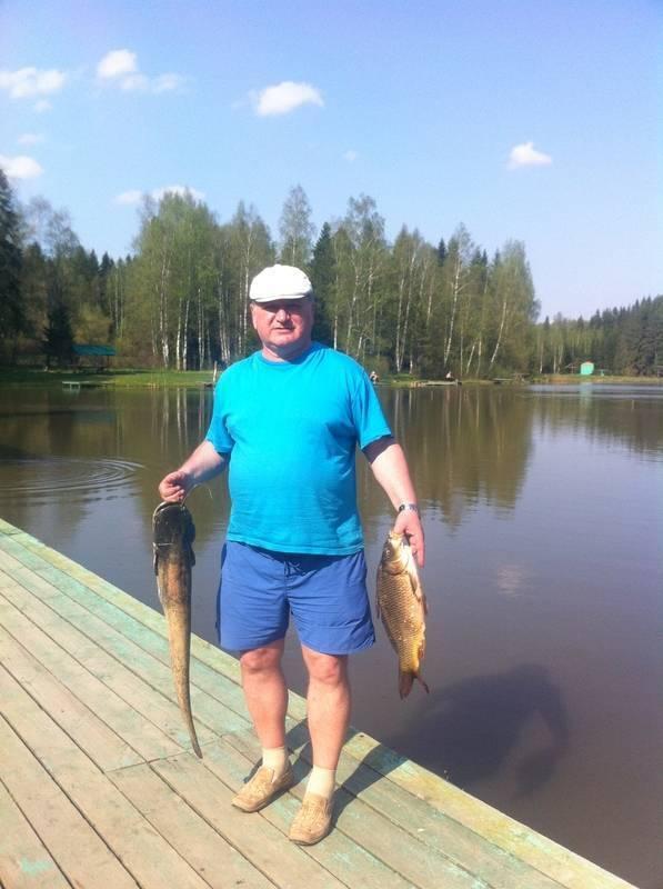 Рыбалка — дело клёвое сергиев посад - отдых и досуг.