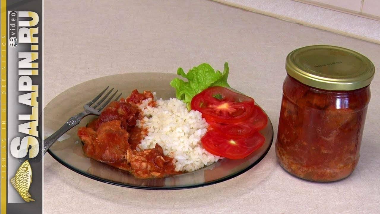 Вкусная речная рыба в томате или рыба почти по-бенгальски