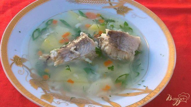 Рыбный суп из филе минтая с рисом рецепт с фото пошагово - 1000.menu
