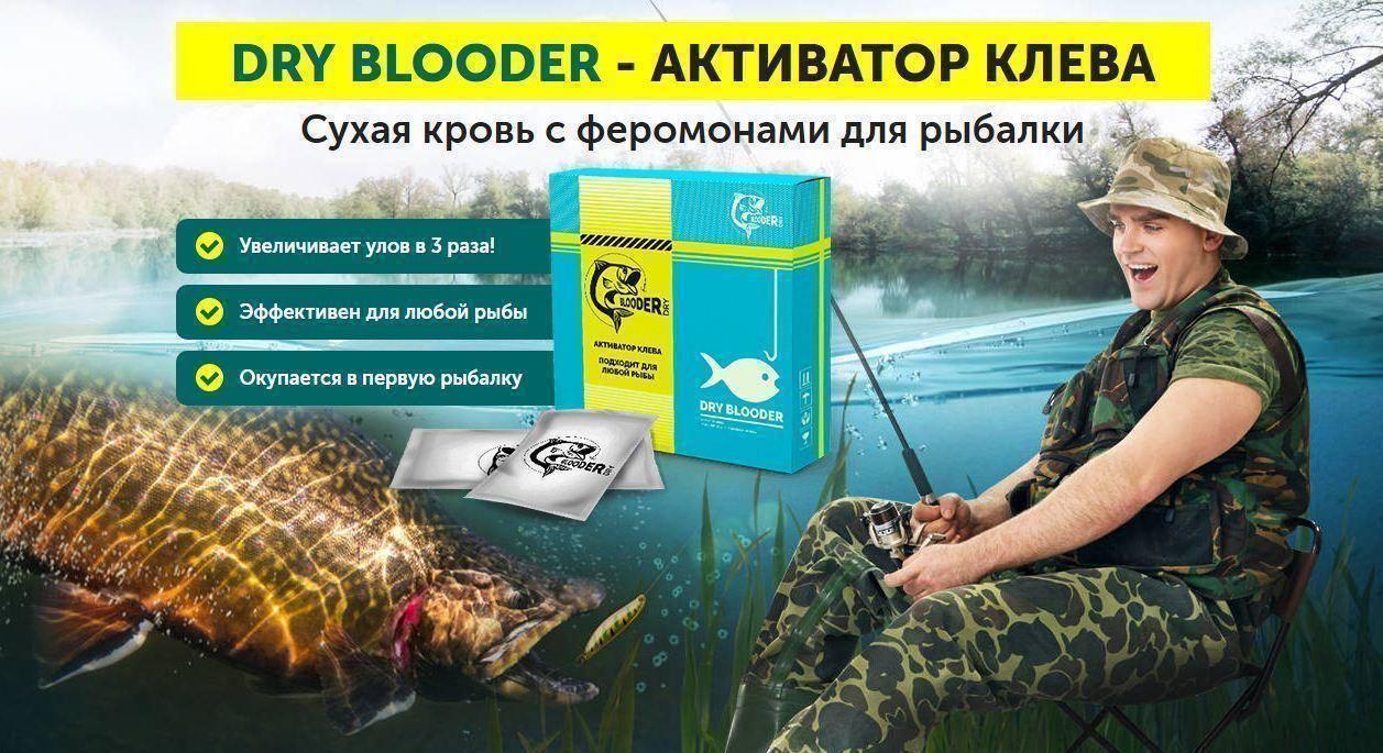 Сухая кровь для рыбалки: как пользоваться прикормкой, преимущества, особенности активатора клева