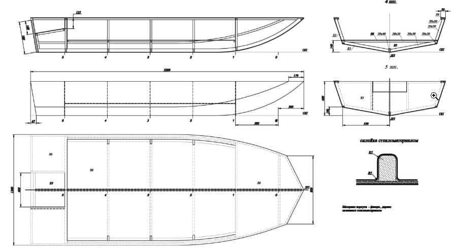 Как сделать лодки для рыбалки своими руками из фанеры, бутылок?