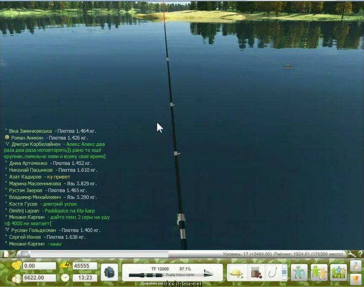 Таблица проходных рыб в трофейной рыбалке